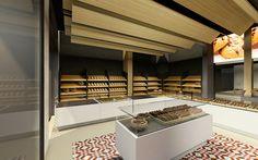 bakery design, Kazamiakis in Athens | Interior Designer | iidsk Kyriakos Serefoglou