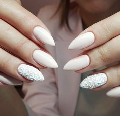 Pom Pom Gel Polish + Nail Art Gel White by Emilia Tokarz - Indigo Young z Krakowa #nails #nail #wedding #autumn #indigo #white #nude #nailart #amazing #omg #fall #so #cute