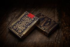 Monarchs - a sleek, industrial-inspired deck of cards proudly sold at cloakanddapper.us