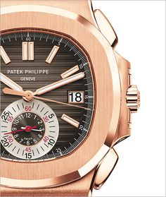 PATEK PHILIPPE SA - Nautilus Ref. 5980R-001 Oro rosa /// Founded 170 years ago, GOBBI 1842 is an official retail store for refined jewelleries and luxury watches such as Patek Philippe in Milan. Check the website : http://www.gobbi1842.it/?lang=en