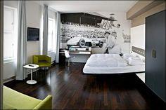 Hotel V8: un albergo a tema automobilistico | Vanilla Magazine