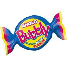 Anglo Bubbly Bubble Gum - 250g Bag