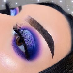 Purple Makeup Looks, Makeup Eye Looks, Eye Makeup Art, Eyeshadow Makeup, Eyeliner, Gorgeous Makeup, Pretty Makeup, Cute Makeup, Lila Make-up