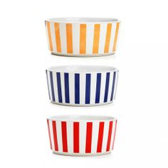 Waggo Stripey Soiree Bowls