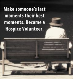 In an estimated to million patients received hospice services. You can make a difference in one of these lives. Become an Assisted Home Hospice Volunteer and see how rewarding it is to make someone's last moments their best moments. Hospice Quotes, End Of Life Doula, Volunteer Quotes, Hospice Nurse, Life Care, Volunteer Appreciation, Home Health Care, Love My Job, Caregiver