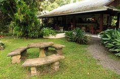magellan inn courtyard recstaurant   - Costa Rica