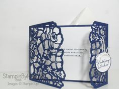 Floral phrases wedding congratulations card video tutorial using Stampin' Up! UK…