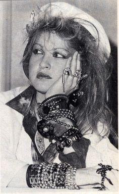 Cindy Lauper 1985