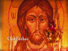 The Lord's Prayer - Our Father sung in Church Slavonic with English translation, Byzantine icons and new photos of old childhood memories of the Russian Orth. Christian World, Christian Faith, Russian Foods, Lord's Prayer, Church Music, Byzantine Icons, Russian Orthodox, Orthodox Christianity, In God We Trust