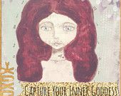 Goddess Painting - Goddess Painting Course - Goddess E-course - Capture Your Goddess - Instructional Art - How to Paint a Goddess Download