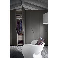 Inspiração Portas em #Valchromat #Grey #Cinza
