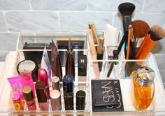 Makeup Organization // Live Simply by Annie