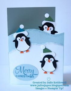Penguin Parade for Coffee and Card