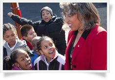 This school Principal is making a difference. You can too by supporting The Heart of America Foundation Spotlight Schools.