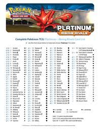 Magic image within pokemon card checklist printable