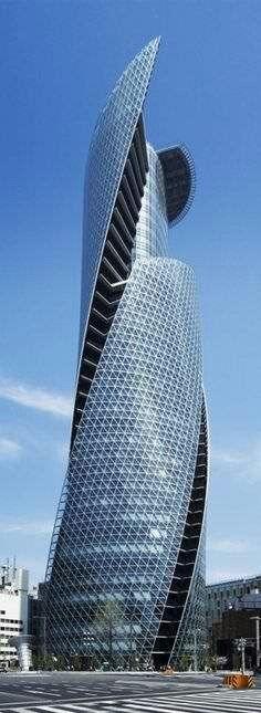 Mode Gakuen Spiral Towers in Nagoya, Japan