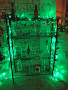 mad scientist lab lighting idea