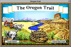 the oregon trail - game screenshots