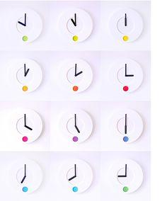 color o'clock by Duncan Shotton design studio for Rainbow Spectrum
