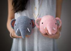 crochet elephant 2