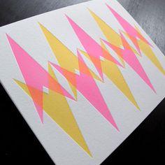 anemone letterpress