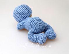 Sleeping baby amigurumi by StuffTheBody