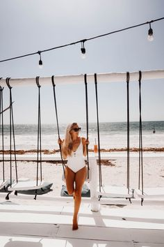 An Instagram Guide To Tulum - Fashion Mumblr Fashion Mumblr, Travel Fashion, Travel Flatlay, Gray Matters, Tulum Mexico, Beach Town, Mexico Travel, Beach Photos, Travel Style