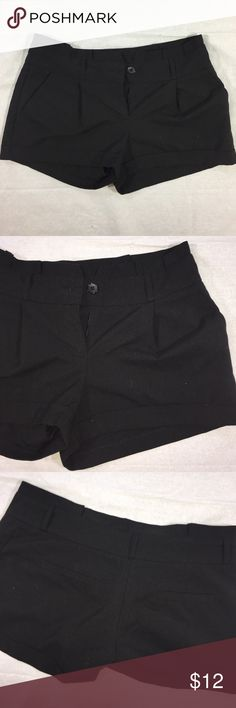 Black Shorts Cute black shorts from Love Culture. I love these! They are really comfortable, loose fitting, sort of baggy. But I wore them with tights underneath and heels! So cute. They have two pockets in front and two in back! A zipper and a button in the front as well! Love Culture Shorts
