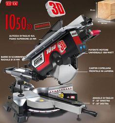 Troncatrice 1050 3D Femi