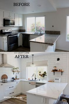 Scandinavian Kitchen Decor White Semihandmade Kitchen Renovation: Before After. Scandinavian Kitchen Decor White Semihandmade Kitchen Renovation: Before After Home Decor Kitchen, Home Kitchens, Kitchen Ideas, Kitchen Inspiration, Small Kitchens, Rustic Kitchen, Kitchen Hacks, Kitchen Modern, Minimal Kitchen