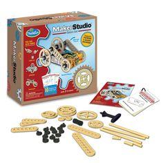 Amazon.com: ThinkFun Maker Studio - Gears Building Kit: Toys & Games
