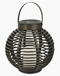 This attractive solar round rattan basket with a flickering amber LED light will add a nice decor element to any patio or garden area. It is safe, with no wiring required. It is ideal Garden Lighting Lanterns, Basket Lighting, Solar Lanterns, Candle Lanterns, Solar Lights, Outdoor Lighting, Outdoor Lantern, Wall Lighting, Solar Panel Cost
