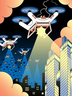China's flashiest global brand has a share of America's consumer drone sales.