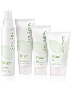 Mary Kay® Botanical Effects® Skin Care Four-Piece Set – Formula 2 (Normal Skin)