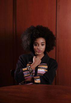 ArtHoe Amandla Stenberg Appreciation Thread + Tea - Page 9 Black Girl Magic, Black Girls, Black Lady, Beautiful Black Women, Beautiful People, Curly Hair Styles, Natural Hair Styles, Amandla Stenberg, Aesthetic People