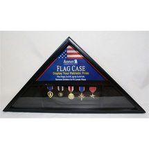 flag display case walmart