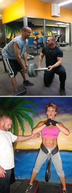Raw Iron Gym offers local boot camps for clients. Hire them if you want a get fit boot camp to motivate you to reach your health goals. They also offer personal training and nutrition counseling.