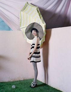 Tim Walker The Right Lines editorial British Vogue