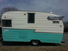 Vintage 1962 Shasta (SC) Camper Trailer $23500