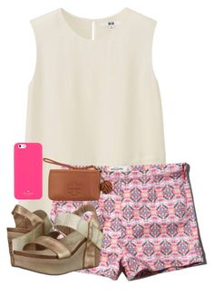 """""""dance performance 2night"""" by apemb ❤ liked on Polyvore featuring Uniqlo, OTBT, Tory Burch and Kate Spade"""