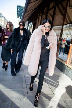 Chic and Silk: STREET STYLE: Winter Pastels! Δείτε 40 Υπέροχα Outfits