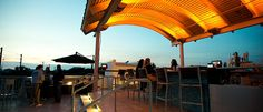 Rooftop sunsets in Seagrove? yes and yes.   723whiskeybravo.com