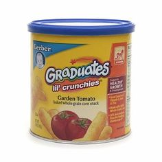 I'm learning all about Gerber Graduates Lil' Crunchies at @Influenster! @GerberLife