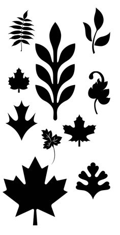 FREE SVG KLDezign SVG: August 2012 leaves