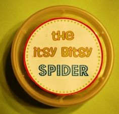 My LDS Other Projects The Itsy Bitsy Spider Song For Nursery