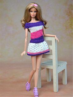 barbie kleid stricken - Google-Suche