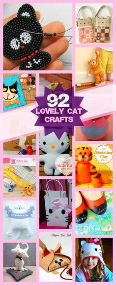 Purrrfect: 90+ Crafts for Cat Lovers. Pin now read later?