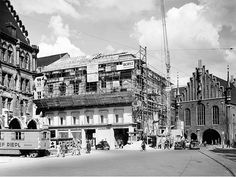 LUDWIG BECK 1951 – Wiederaufbau: Beck prägt das Gesicht der Stadt während der Wirtschaftswunderjahre.