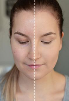 See the amazing before and after photos of beauty blogger Erika! Here she's wearing Lumene Matt Control Foundation. #foundation #lumene