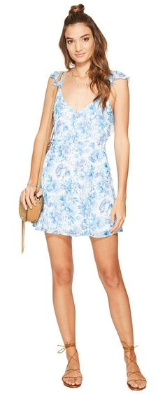 Show Me Your Mumu Delilah Dress (Mama Blues) Women's Dress - Show Me Your Mumu, Delilah Dress, MS7-519-MB04, Apparel Top Dress, Dress, Top, Apparel, Clothes Clothing, Gift - Outfit Ideas And Street Style 2017